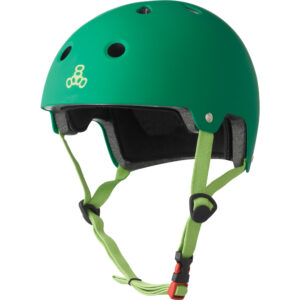 Triple 8 Dual Certified Helmet Kelly