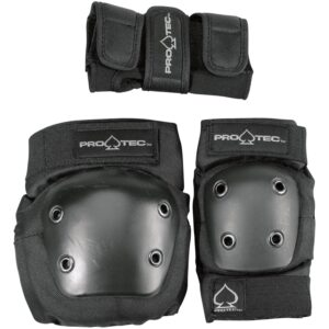 protec pad set black
