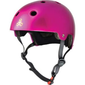Triple 8 Dual Certified Metallic Pink